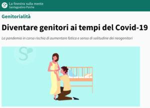 Genitori ai tempi del covid-19 - Erica Melandri psicologa e psicoterapeuta Roma